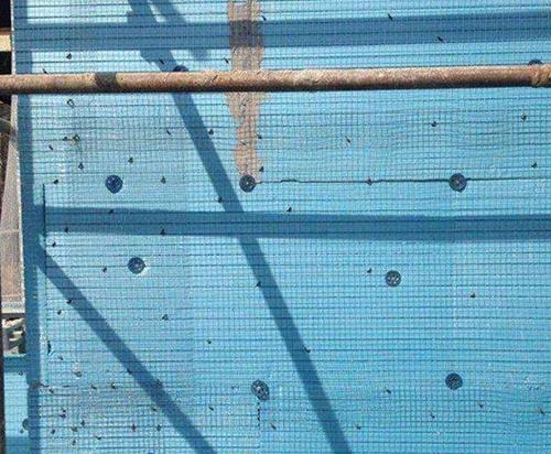 xps挤塑板建筑外墙保温案例